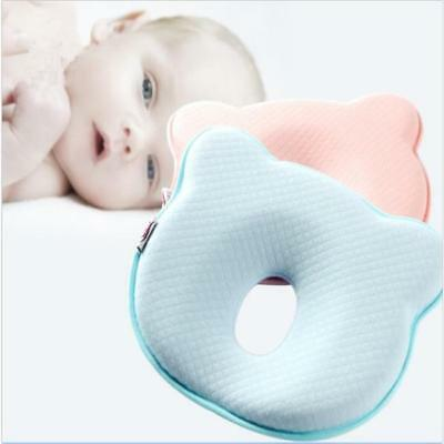 Soft Baby Cot Pillow Prevent Flat Head Air Layer Cushion Sleeping Support Z