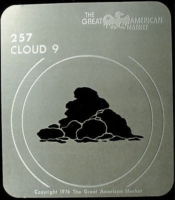 "Gobo template pattern - GAM 257 ""Cloud 9"""