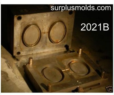 """plastic injection mold, picture frame 7.5"""" Oval"""