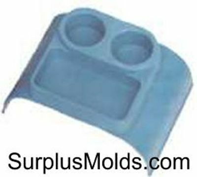 plastic injection mold, auto cup holder