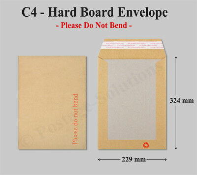 Board Backed Envelopes Quality product for A4 letters Certificates photos Cheap!
