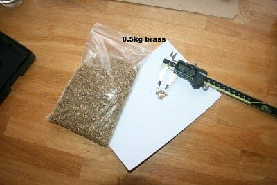 Metal Shavings brass  0.5kg Swarf for arts crafts and hobbies, Orgonite