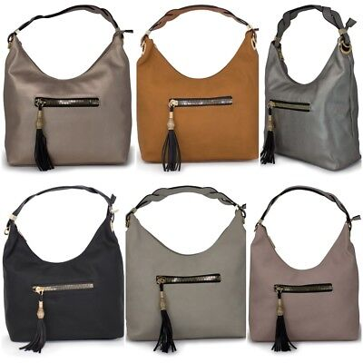 Ladies Top Handle Stunning Luxury Elegant Grab Bags Tote Shoulder Handbags -CO53