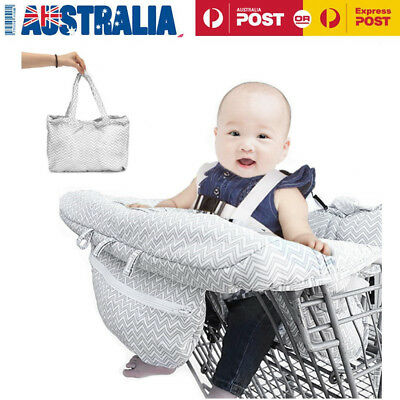 Baby High Chair Protector Mat Child Shopping Supermarket Trolley Cart Cover Seat