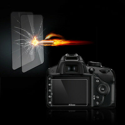 Tempered Glass Film Camera LCD Screen Protector Guard for Nikon D750/DF HO