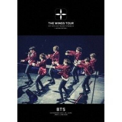 2017 BTS LIVE TRILOGY EPISODE III THE WINGS TOUR ~JAPAN EDITION~ limited DVD