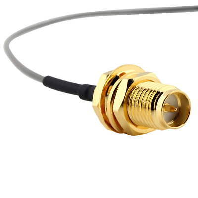 U.FL IPX 1.13 to RP-SMA female RF Pigtail Cable Jumper for PCI Wifi Card ES
