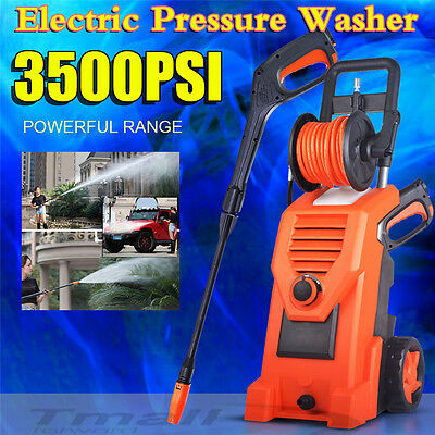 High Pressure Water Cleaner Power Electric Washer+Gurney Pump 10M Hose Cleaning