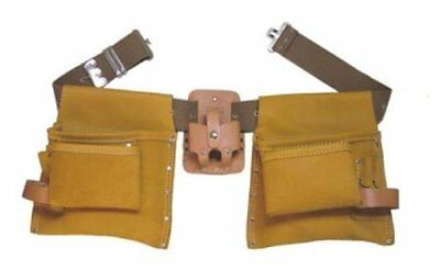 2245e2e3eba9 Heritage Leather 447 11-Pocket Professional Combination Top Grain Moccasin  Apron