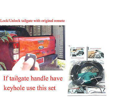 Central Locking Tailgate Lock unlock by remote For Ford Ranger T6 2012-18 Keyhol