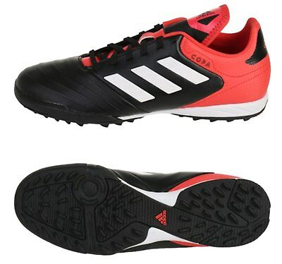 d56f61a1b Adidas Men COPA Tango 18.3 TF Cleats Futsal Black Red Shoes Soccer Spike  CP9922