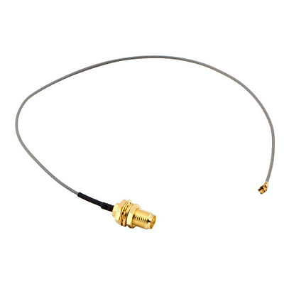 U.FL IPX to RP-SMA female RF Pigtail Cable Jumper for PCI Wifi Card GT