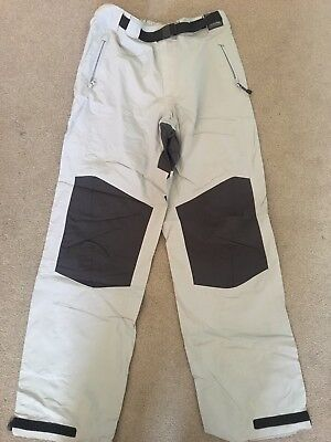 SLAM Sailing Yachting Pants - Ice Grey, Size XS (RRP: $110)