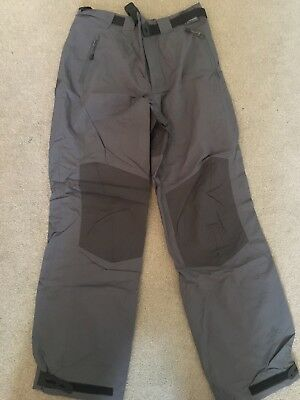 SLAM Sailing Yachting Pants - Grey, Size XS (RRP: $110)