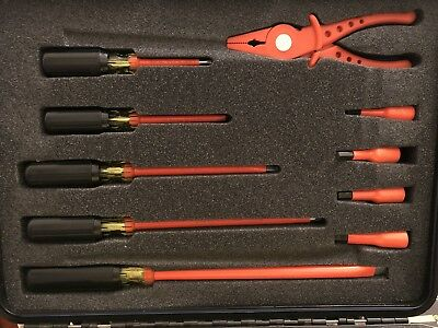 Cementex  Insulated  Tool Kit 31 Piece with Heavy Duty Carrying Case