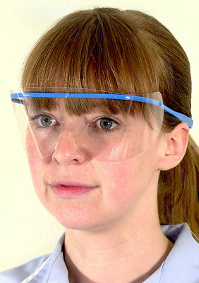 McKinnon Disposable Medical Eye Shields Safety Glasses Splash Protection SM-20