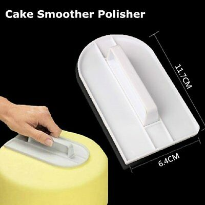 Cake Smoother Polisher Tools Cutter Decorating Fondant Sugarcraft Icing Mold zp&