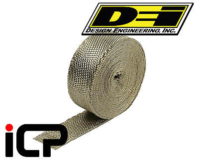 "DEI Titanium Heat Exhaust Wrap 1""x15FT Roll"