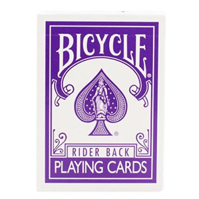 Brand New Magic Deck - Bicycle Purple Deck by Magic Makers