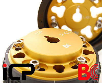 Brian Crower Gold Adjustable Cam Pulleys Fits: Subaru Impreza Turbo 98-15