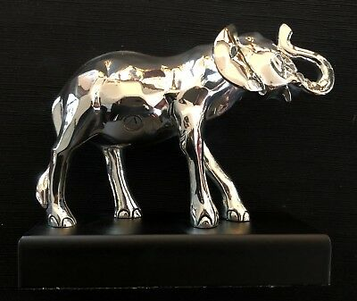 Elefante in argento 18 x 16 cm -Made in italy- soprammobile