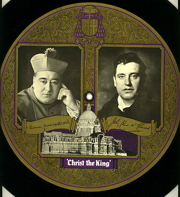 """JOHN McCORMACK """"PICTURE-DISC"""" Hymn to Christ the King  single-sided 78rpm  G3269"""