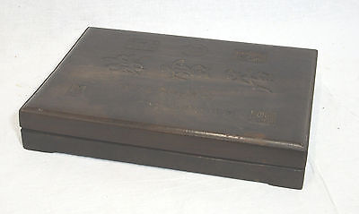 Large  Chinese  Ink  Stone  With  Wood  Box  2