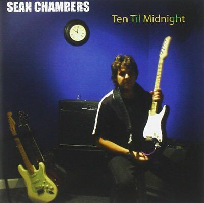 Ten Til Midnight by Sean Chambers (CD, Oct-2009, Blue Heat), New, Rare, OOP