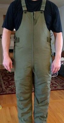 Insulated Overalls, Od, Military Aramid, Aircrewmen's  Size: Mr,  Fits Lg-Xl