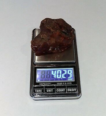 40.29 - Genuine Natural  Antique Old Baltic Amber Stone Bernstein