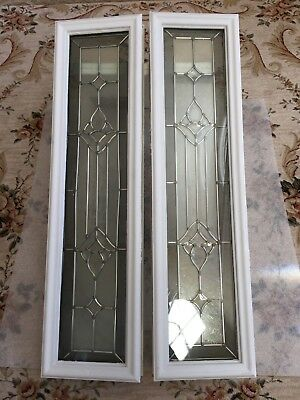 Entry Door Sidelights With Frames And Screws , Used