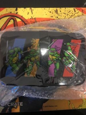 Loot Crate Gaming Exclusive February 2018 TMNT IV Turtles In Time Bento Box