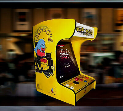 Arcade Machine with 412 Classic Games Pac man