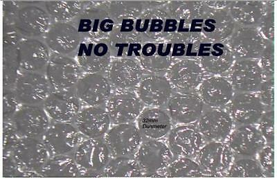 Extra Large Air Bubbles Wrap 25 M Long 300 Mm Wide Ultimate Protection Free Ship
