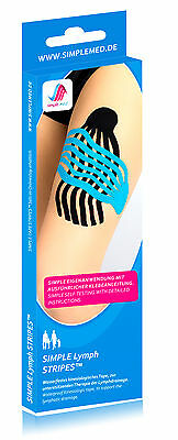Lymph Bande - Kinésiologie Pre Cut Physio Taping Vorgeschnitten - les Restes