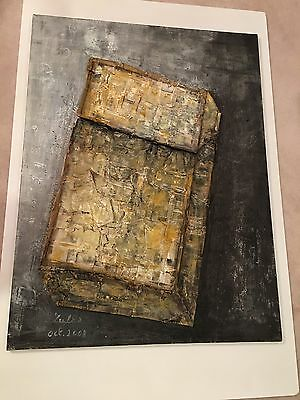 Leyla Cardenas Mixed Media Art On Canvas Xl Painting Contemporary Art Gallery