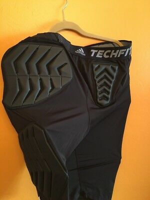 NBA Authentic Adidas Techfit Padded Compression Shorts Size 2XT