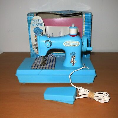 HOLLY HOBBIE battery operated sewing machine Durham VINTAGE TOY * UNTESTED *
