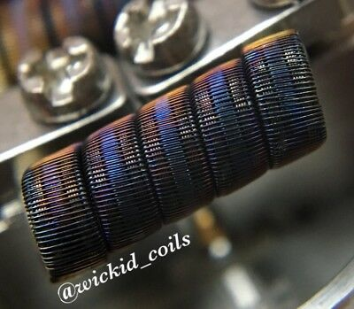 2 KPN80 14 Ply High Gauge Staggerton Coils + Free Coils! (Staple & Alien Killer)