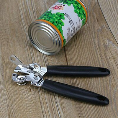 Professional Stainless Steel Strong Heavy Duty Chrome Kitchen Tin Can Opener AU