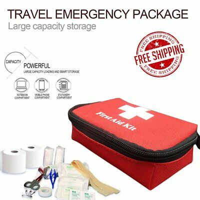 Travel Emergency Survival Bag Mini Portable First Aid Kit For Home & Outdoor GK