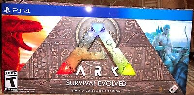 ARK Survival Evolved Collector's Edition for PlayStation 4 PS4 - NEW!