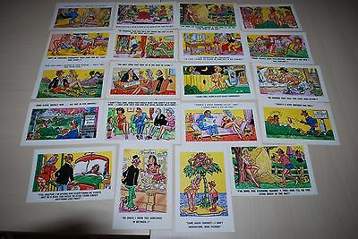Humour /  Seaside 20 Postcards Pedro And Constance Unused Job Lot