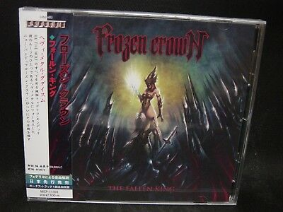 FROZEN CROWN The Fallen King + 1 JAPAN CD Ashes You Leave Be The Wolf Italy HM !