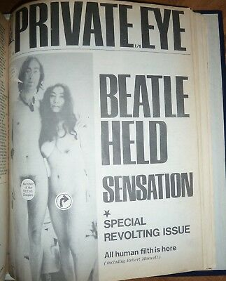 Private Eye Full Year 1968. Official Binder. Ideal 50th Anniversary gift