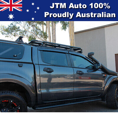 Weathershields Window Visors Weather Shields For Ford Ranger Dual Cab 2012-2019
