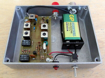475kHz Converter to 4.475MHz, for the new USA Amateur band.  Made in Dorset UK.