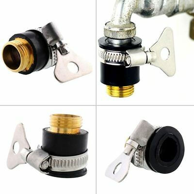 Faucet Adapter Spring Universal Garden Lawn Water Tube Tap Hose Pipe Connector