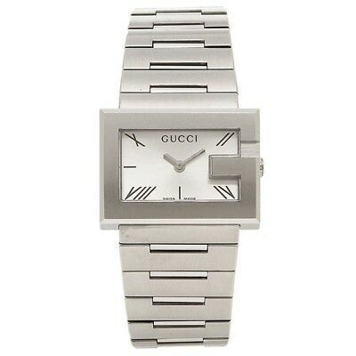 375aad2ac8f GUCCI YA100506 STAINLESS Steel 100L Series Silver Women s Watch ...