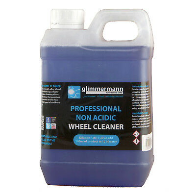 Glimmermann Non Acidic Car Alloy Wheel Cleaner Remover Rims Brake Dust 2L